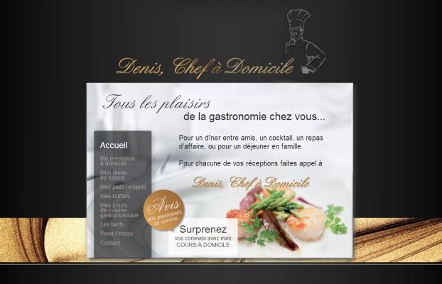 84 Carte De Visite Chef Cuisine A Domicile