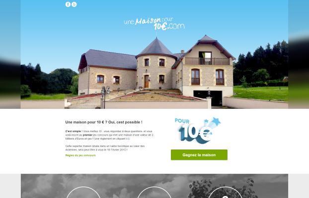 Une maison à 10 euros