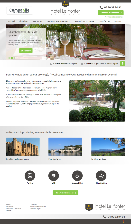 Hôtel Le Pontet